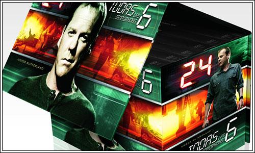Novedades 24 en dvd
