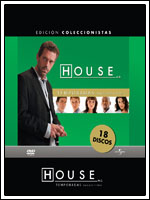 Lanzamiento en dvd del pack con las tres primeras temporadas de House