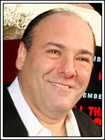 James Gandolfini, nominado a mejor actor por su interpretación de Tony Soprano