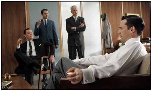 Mad Men renueva por una cuarta temporada – Series TV – Hablando en serie