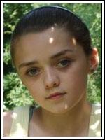 Maisie Williams será Arya Stark en Juego de Tronos