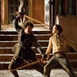 Arya y Syrio