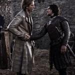 Jaime Lannister y Jon Nieve