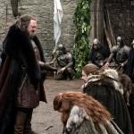 El Rey Robert y la familia Stark