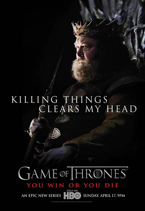 hablandoenserie - Robert Baratheon