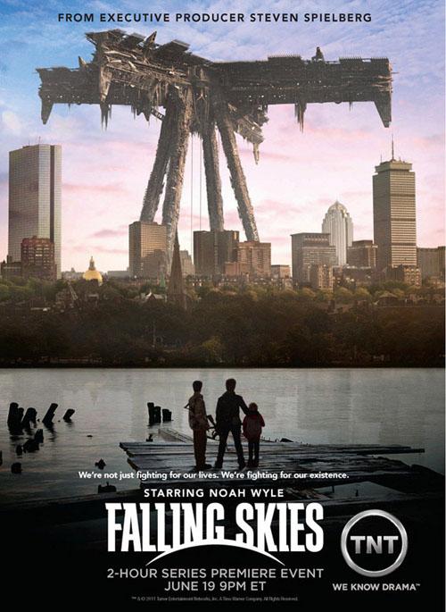 hablandoenserie - Falling Skies poster 1