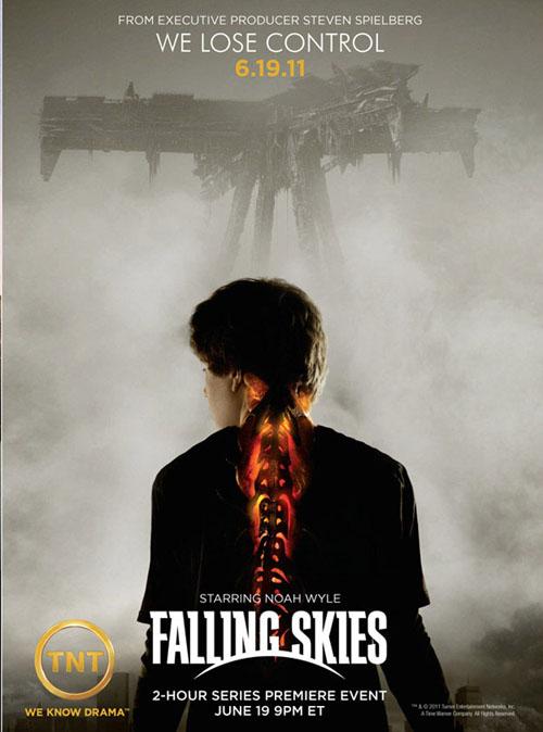 hablandoenserie - Falling Skies poster 2