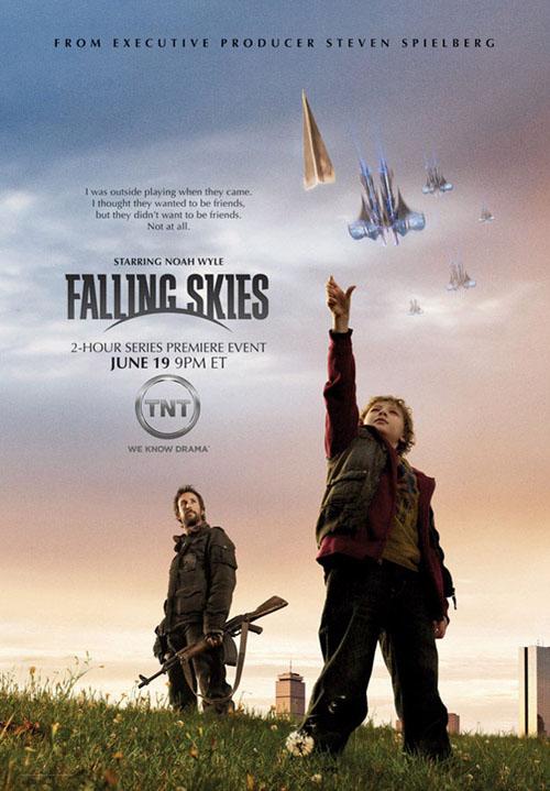 hablandoenserie - Falling Skies poster 3