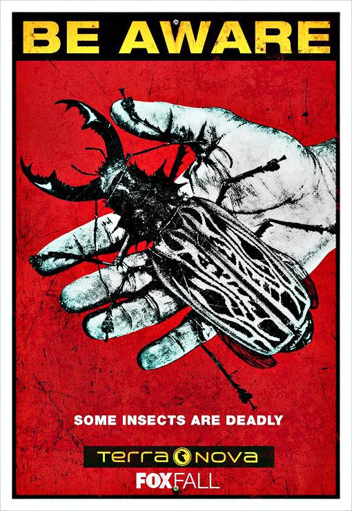 hablandoenserie - Poster Terra Nova