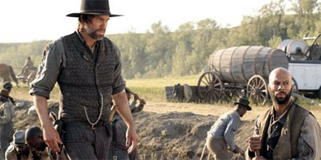 Póster oficial de Hell on Wheels