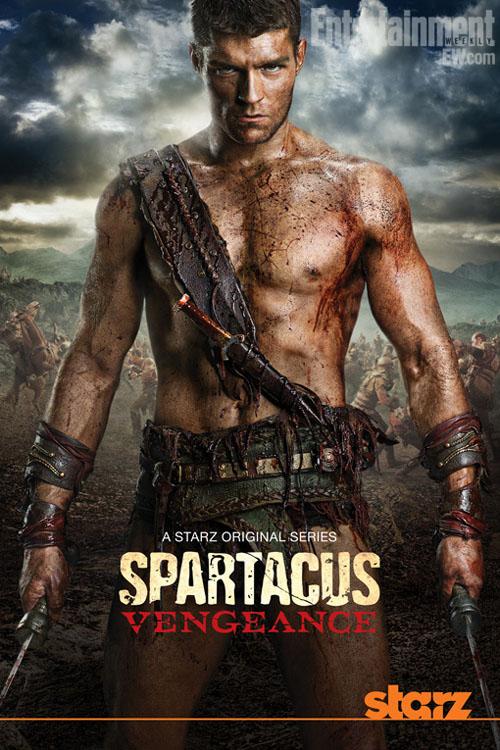 hablandoenserie - Poster de Spartacus: Vengeance