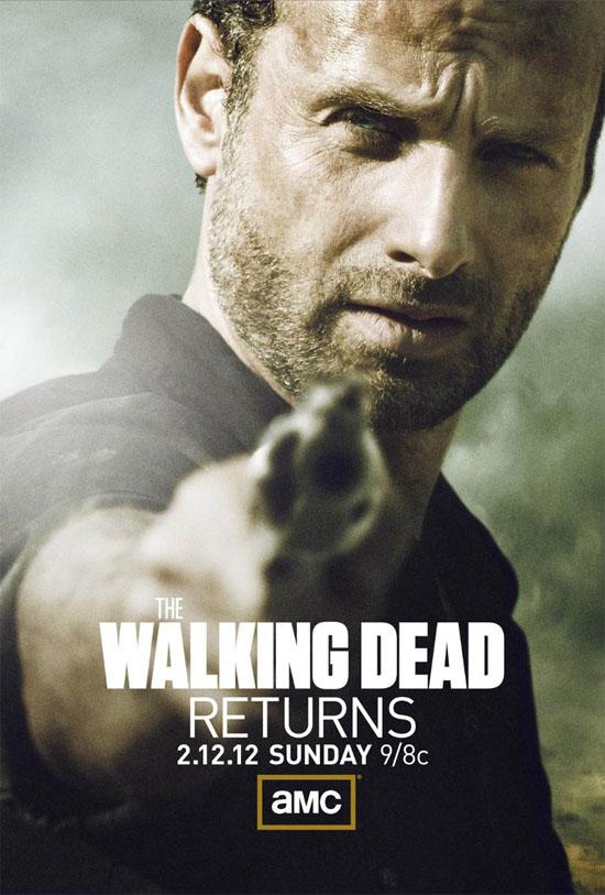 Póster de la segunda mitad de la segunda temporada de The Walking Dead