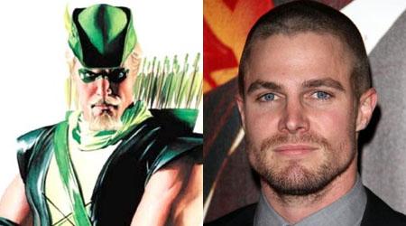 Stephen Amell será Flecha Verde en Arrow