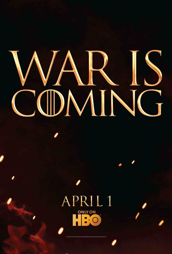 hablandoenserie - War is Coming