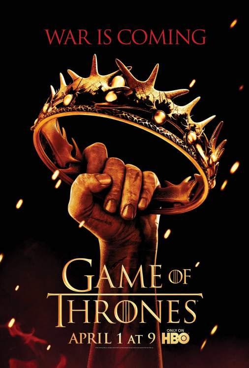 hablandoenserie - Juego de Tronos Poster oficial