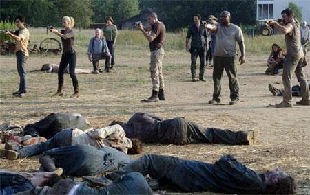 Récord de audiencia para el final de la segunda temporada de The Walking Dead