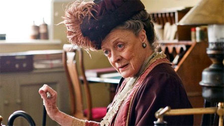Maggie Smith podría abandonar Downton Abbey
