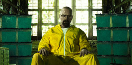 Póster de la quinta temporada de Breaking Bad