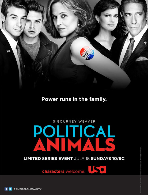 Pster promocional de Political Animals