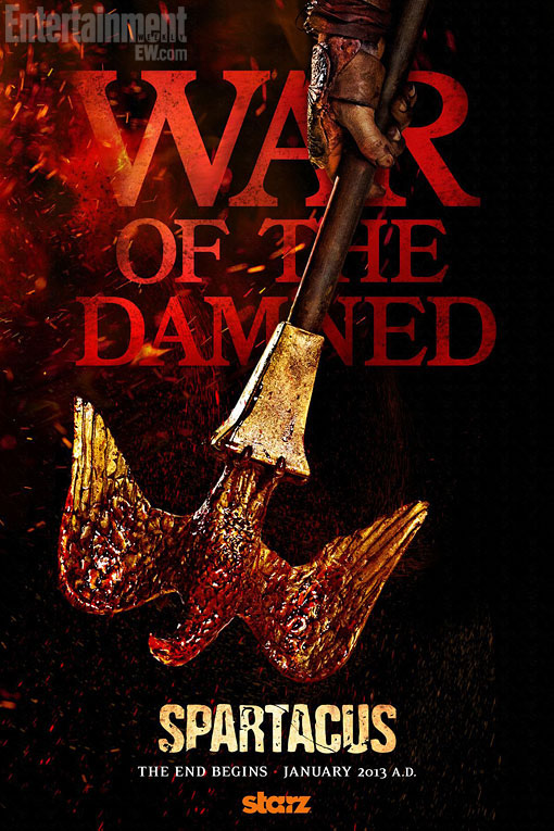 hablandoenserie - Poster Spartacus: War of the Damned