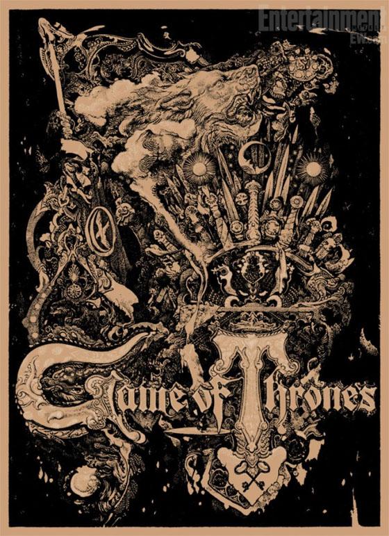 hablandoenserie - Juego de Tronos poster Comic Con