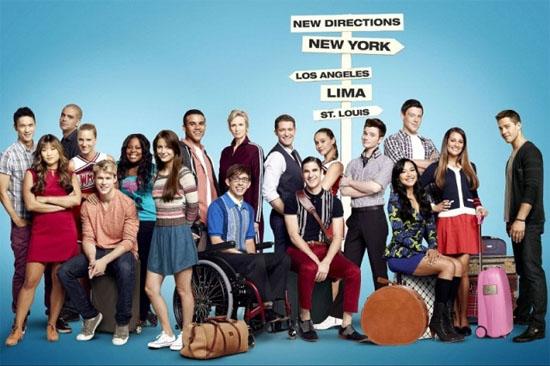 hablandoenserie - Glee cast