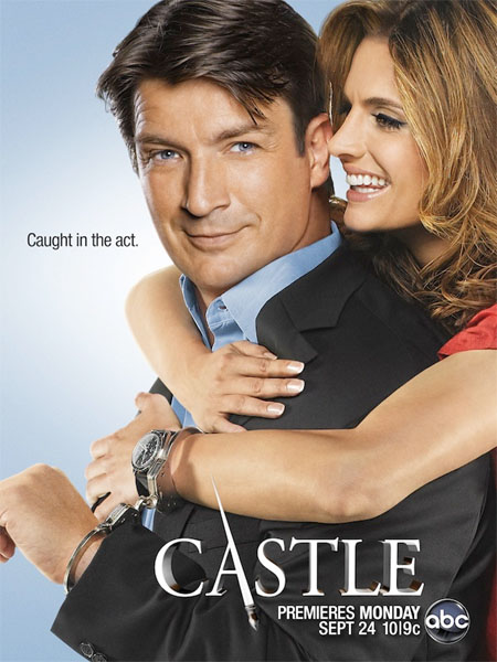 Póster de la quinta temporada de Castle