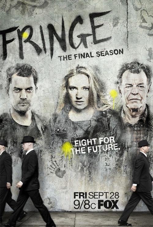 Póster oficial de la quinta temporada de Fringe