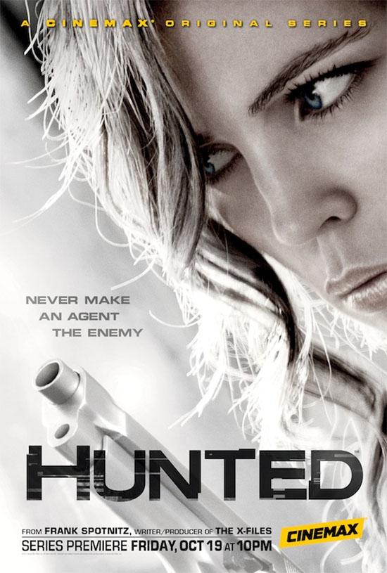 hablandoenserie - Hunted Poster