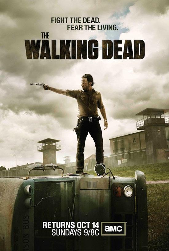 Póster de la tercera temporada de The Walking Dead