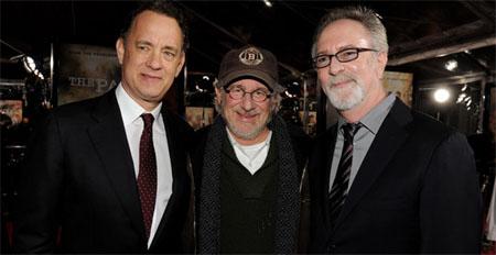 hablandoenserie - Steven Spielberg, Tom Hanks y Gary Goetzman