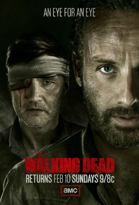 Póster del regreso de The Walking Dead