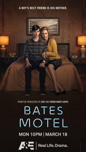 hablandoenserie - Bates Motel Poster