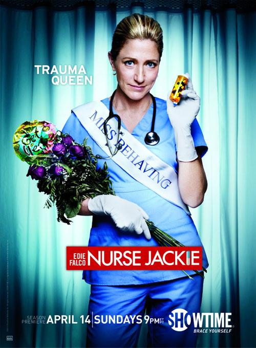 Póster de la quinta temporada de Nurse Jackie