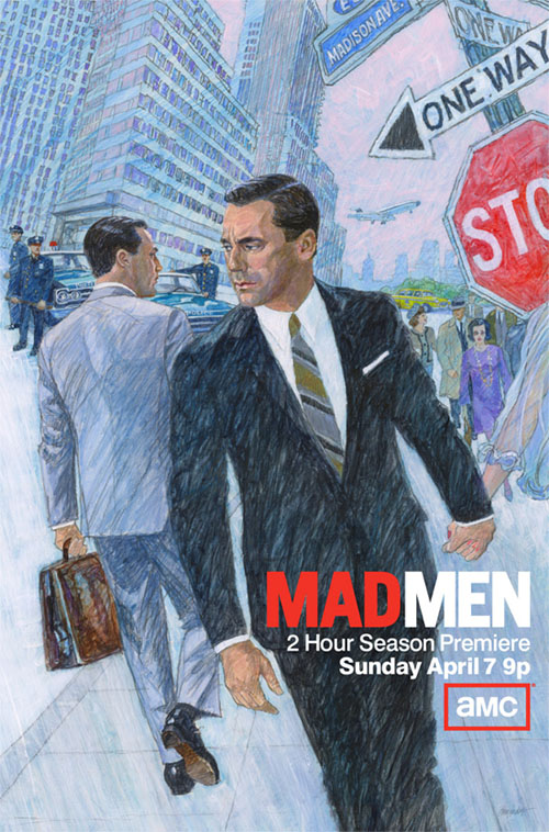 Póster de la sexta temporada de Mad Men