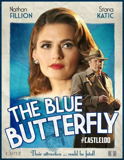 hablandoenserie - Castle - The Blue Butterfly