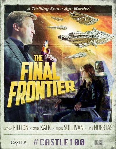hablandoenserie - Castle - The Final Frontier