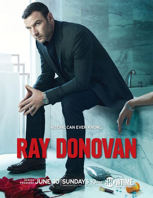 Póster oficial de Ray Donovan