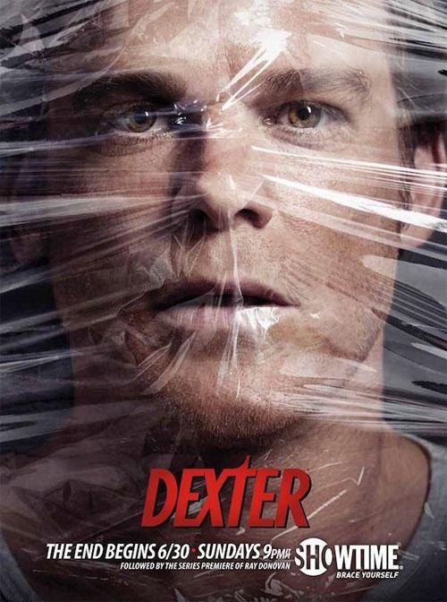 Póster de la octava temporada de Dexter