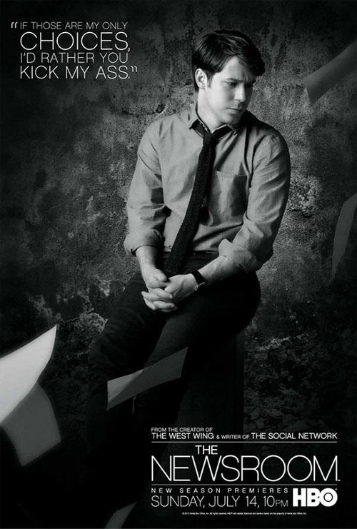 Pósters de la segunda temporada de The Newsroom
