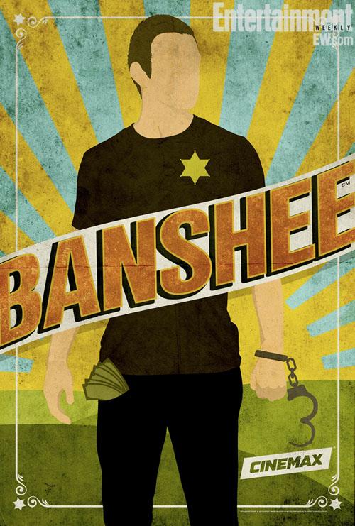 Pósters de Banshee para la Comic Con