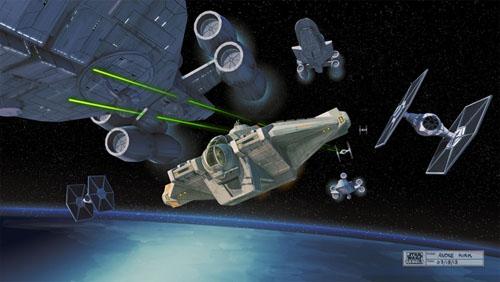 Logo y primeras imágenes de Star Wars Rebels