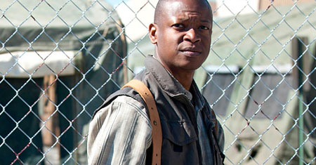 The Walking Dead: Primera imagen de Larry Gilliard Jr. como Bob Stookey