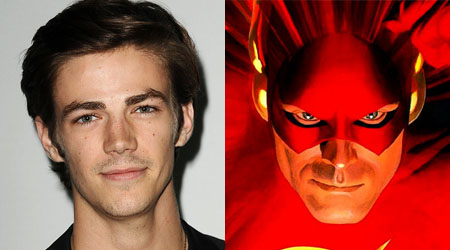Grant Gustin será Flash en Arrow