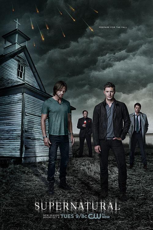 Póster de la novena temporada de Sobrenatural