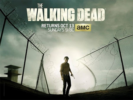 Póster oficial de la cuarta temporada de The Walking Dead