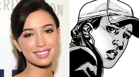 Christian Serratos se une al reparto de la cuarta temporada de The Walking Dead
