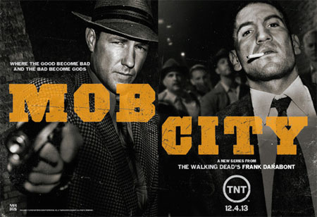 Nueva promo de Mob City, lo nuevo de Frank Darabont