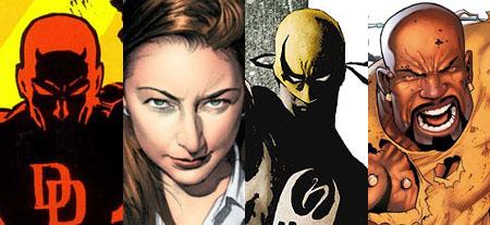 Disney y Netflix preparan cuatro series basadas en superhéroes de Marvel