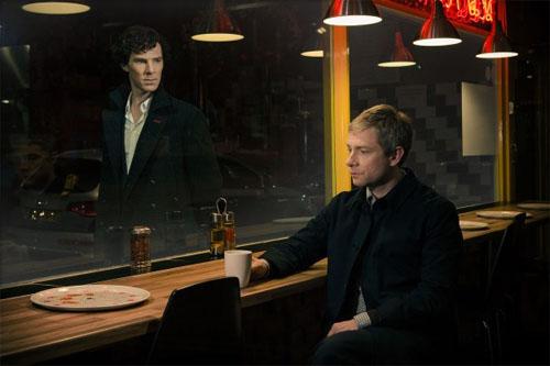 Primera foto oficial de la tercera temporada de Sherlock